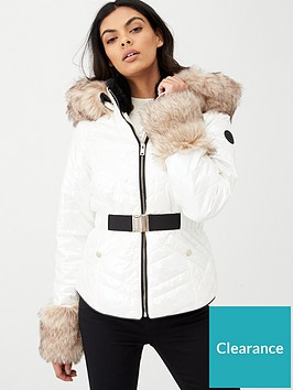 river-island-pearlised-belted-padded-jacket-white