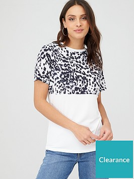 v-by-very-woven-panel-print-tee-animal
