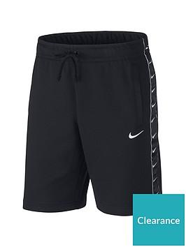 nike-sportswear-swoosh-fleece-shorts-black