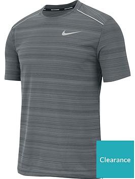 nike-dry-miler-short-sleeve-top-grey