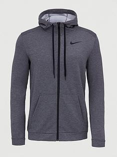 nike-dry-fleece-full-zip-hoodie-charcoal