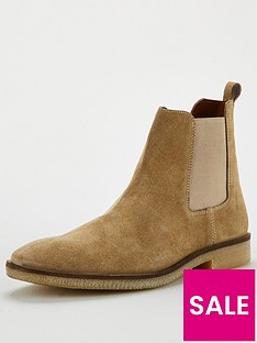 office-buster-suede-chelsea-boots-beige