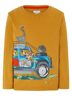 monsoon-boys-eli-safari-ls-tee-mustard