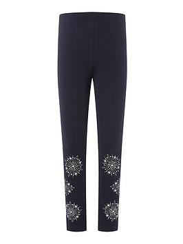 monsoon-girls-snowflake-legging-navy