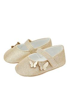 monsoon-baby-girls-simone-butterfly-bootie-gold