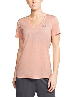 under-armour-tech-twist-top-light-pink