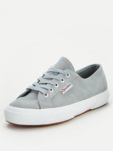 superga-2750-suede-plimsoll-light-grey