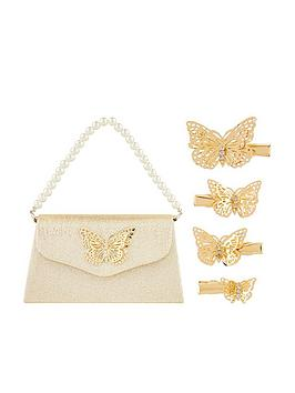 monsoon-girls-simone-butterfly-bag-amp-clip-set-gold