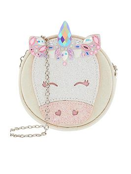 monsoon-girls-bejeweled-unicorn-round-bag-white