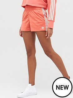 adidas-originals-3-stripe-shorts-rednbsp
