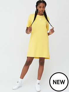 adidas-originals-trefoil-dress-yellownbsp