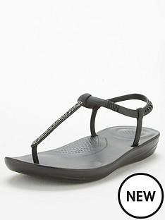 fitflop-sparkle-bella-iqushion-flat-sandal-black