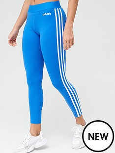 adidas-essentials-3-stripe-leggings-bluenbsp