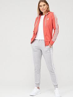 adidas-cotton-energize-tracksuit-rednbsp