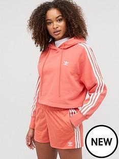 adidas-originals-cropped-hoodie-rednbsp