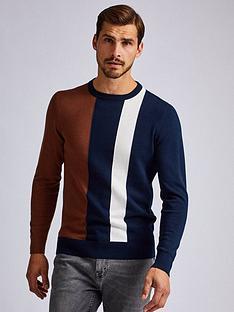 burton-menswear-london-burton-vertical-stripe-jumper