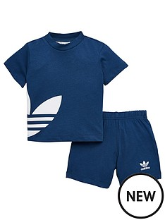 adidas-originals-adidas-originals-big-trefoil-shorts-set