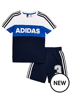 adidas-short-sleeve-tracksuit-white