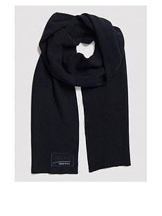 superdry-orange-label-scarf-navy
