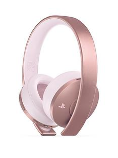 playstation-4-rose-gold-headset-ps4