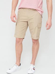 tommy-hilfiger-john-light-twill-cargo-shorts-khaki