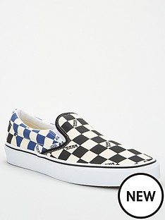 vans-vans-classic-big-check-slip-on-blacknavynbsp