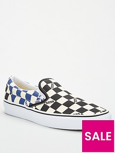 vans-vans-classic-big-check-slip-on-blacknavynbsp