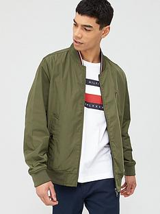 tommy-hilfiger-reversible-bomber-jacket-army-green