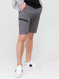 very-man-tech-cargo-shorts-grey