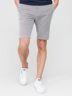 v-by-very-stripe-short-navywhite