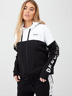 dkny-sport-flip-logo-colorblock-hoodienbsp--white