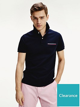 tommy-hilfiger-pocket-detail-slim-fit-polo-shirt-desert-sky-navy