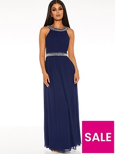 quiz-chiffon-beaded-high-neck-sleeveless-embellished-maxi-dress-navy