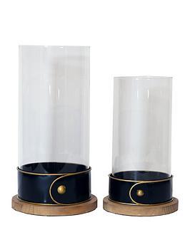 arthouse-set-2-glass-candle-holders