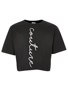 river-island-girls-slogan-cropped-tshirt-black