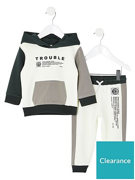 river-island-mini-boys-trouble-hoodie-and-jog-pant-setnbsp--white