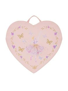 monsoon-girls-lovely-ballerina-heart-backpack-pink