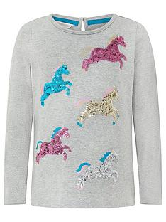monsoon-girls-jessie-unicorn-top-grey
