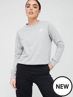 nike-nsw-essentials-sweatshirt-dark-grey-heathernbsp