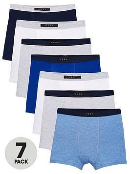 v-by-very-boys-7-pack-trunks-blue