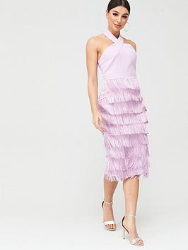 lavish-alice-halterneck-fringe-dress-purple