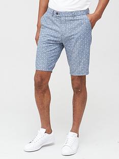 v-by-very-smart-chambray-shorts-blue