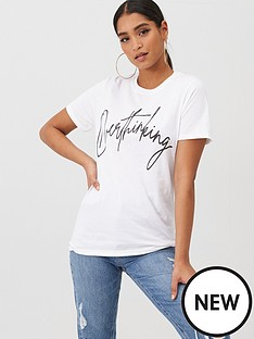 boohoo-boohoo-overthinking-printed-tee-white