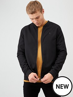 river-island-black-slim-fit-maison-riviera-bomber-jacket