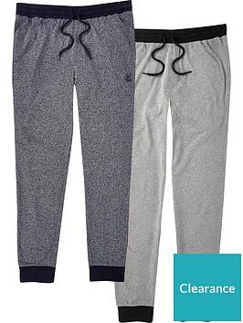river-island-pyjama-bottoms-2-pack-blackgreynbsp