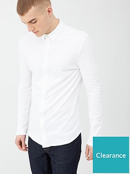 river-island-muscle-fit-pique-polo-shirt-white