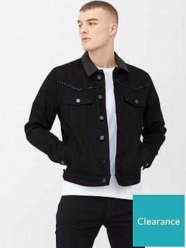river-island-smart-western-studded-denim-jacket-blacknbsp