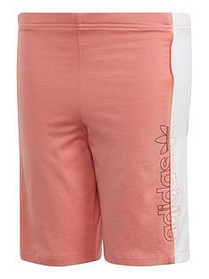 adidas-originals-childrensnbspcycling-shorts-coral
