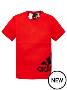 adidas-youth-badge-of-sport-t-shirt-red