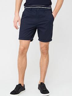 river-island-sid-skinny-shorts-navynbsp
